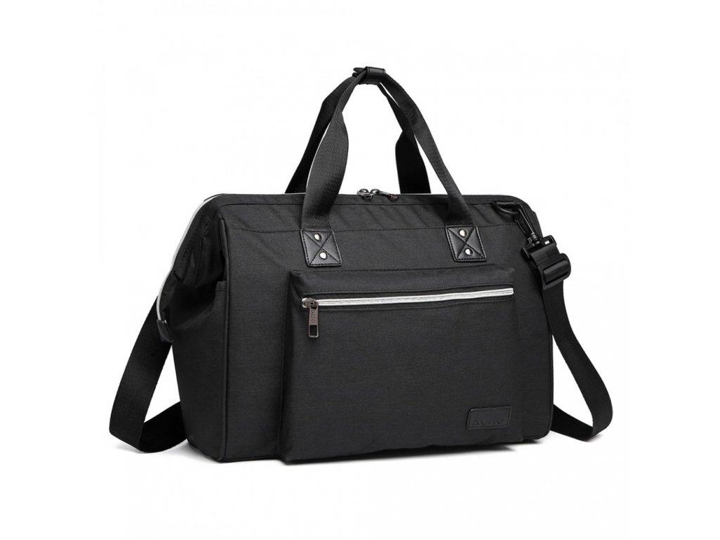 Mateřská cestovní taška - černá