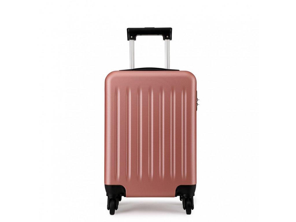 Kabinové zavazadlo na kolečkách - Nude