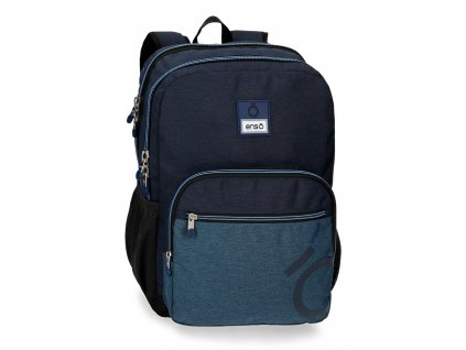 Batoh dvoukomorový Enso Blue