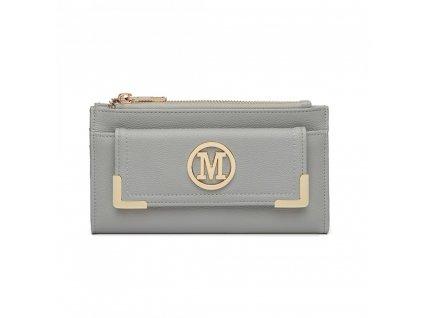 Luxusní dámská peněženka Melinda - světle šedá