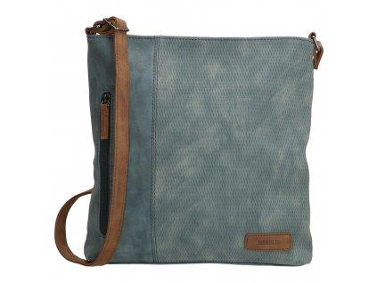 Crossbody taška Beagles Brunete - džínsová modrá