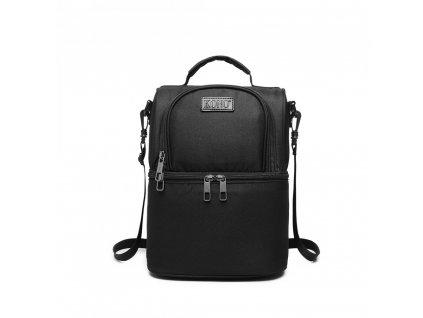 Termo taška/batoh s víceúčelovým využitím Kono - černý