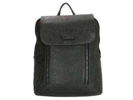 Módní kožený batoh Nuoméa Enrico Benetti - černý