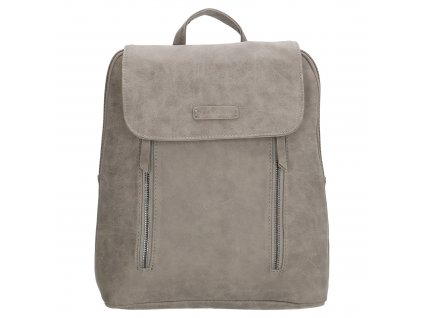Módní kožený batoh Nuoméa Enrico Benetti - šedý