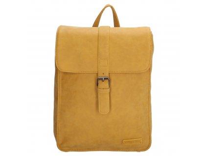 Moderní dámský batoh Enrico Benetti Kate - okrový