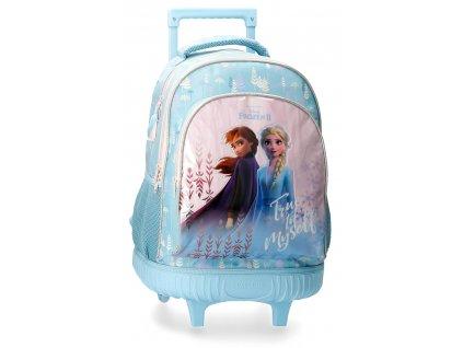 Batoh na kolečkách Frozen 2 - modrý
