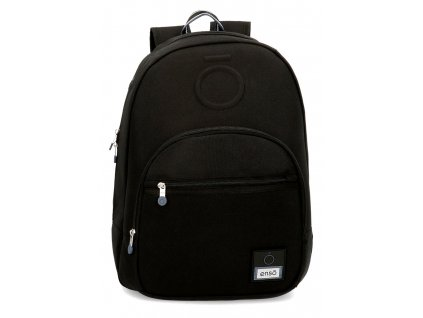 Batoh dvoukomorový Enso Basic - černý