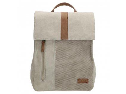 Dámský batoh Beagles Brunete - světle šedý