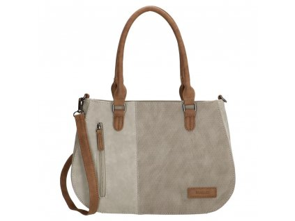 Dámská kabelka Beagles Brunete - světle šedá