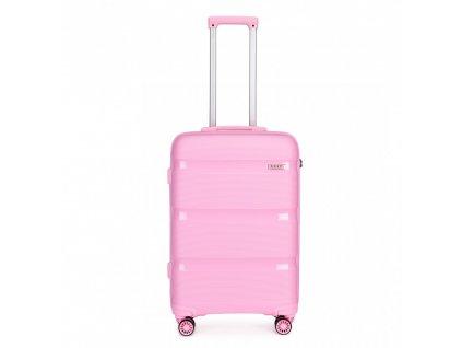 Cestovní kufr na kolečkách Classic Collection - růžový
