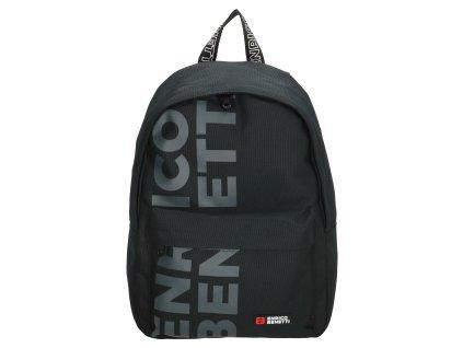 Pánský batoh ENRICO Benetti AMSTERDAM CITY - černý