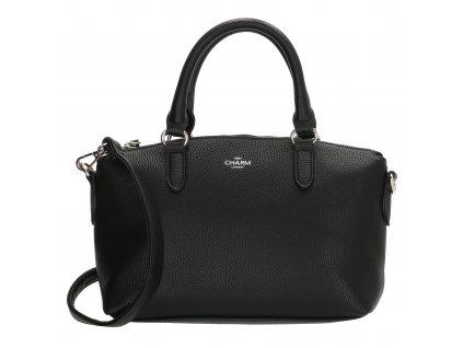 Menší elegantní kabelka Charm LONDON STRATFORD - černá