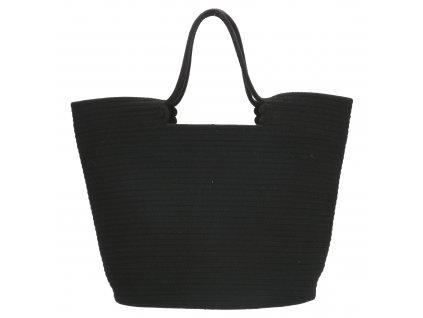 Velká plážová taška PE-Florence Sunset - černá