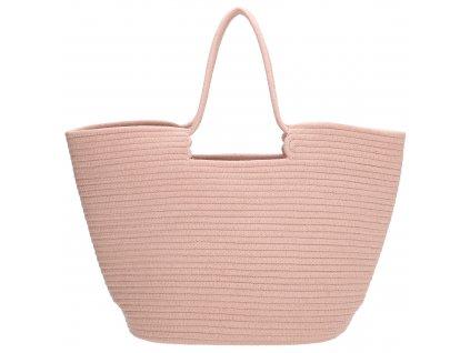 Velká plážová taška PE-Florence Sunset - růžová