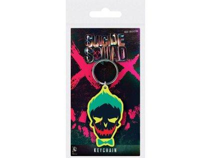 Suicide Squad - Sebevražedný oddíl - klíčenka Joker - lebka