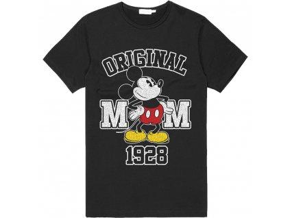 Tričko Original Mickey Mouse - černé
