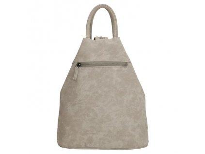 Dámský trojúhelníkový batoh Beagles Alcobendas - šedý