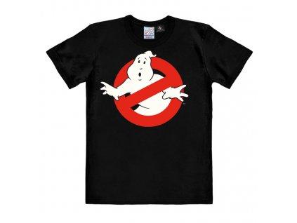 Pánské tričko - Krotitelé duchů - Ghostbusters - Logo - Easy Fit - černé