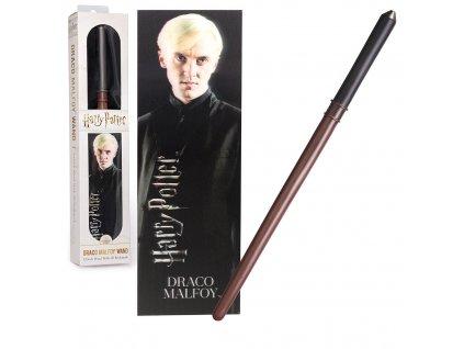 Originální Hůlka Draco Malfoy 30 cm + 3D Záložka