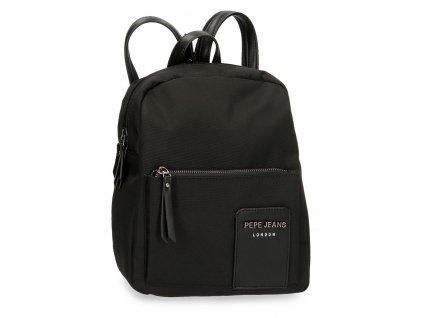 Dámský sportovně-elegantní batoh Pepe Jeans Mia černý