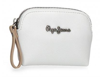 Dámská peněženka Pepe Jeans Zaida malá - bílá