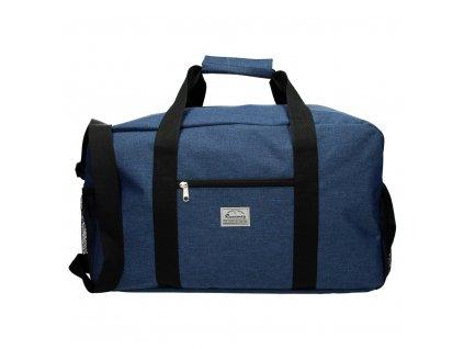 Cestovní taška Runaway basic travel - modrá