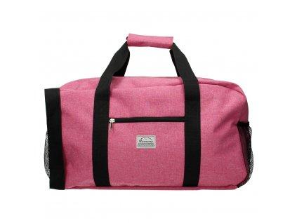 Cestovní taška Runaway basic travel - růžová