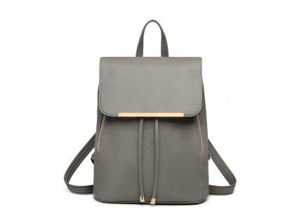 Elegantní dámský batoh - Šedý