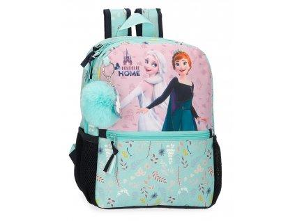 Dětský předškolní batoh FROZEN ARANDELLE IS HOME 32 CM