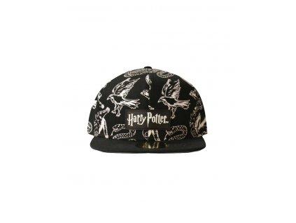 Harry Potter kšiltovka Heraldic Animals BW