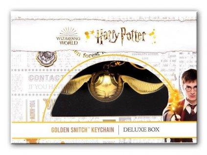 Klíčenka Harry Potter zlatonka v dárkové krabičce