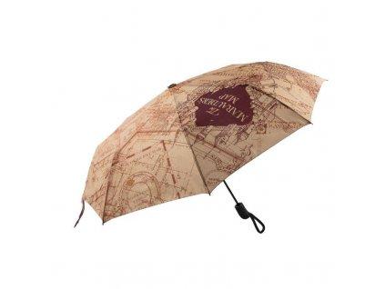 Deštník Harry Potter Marauderova mapa