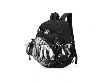 Speciální batoh na brusle a helmu Senkey Style černý
