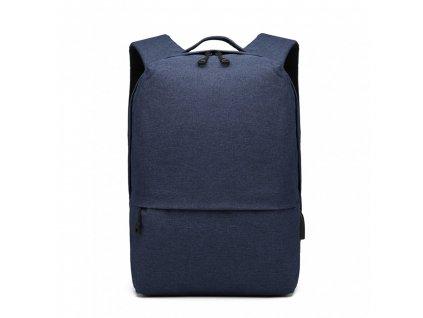 Chytrý batoh s USB portem- Knap - modrý