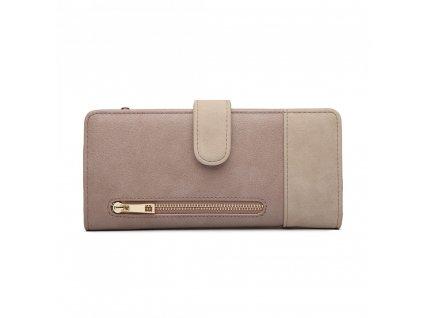 Dámská peněženka Poppy - šedá