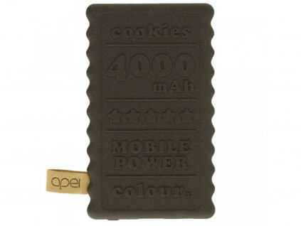 Powerbanka Apei Cookie 4000mAh Hnědá