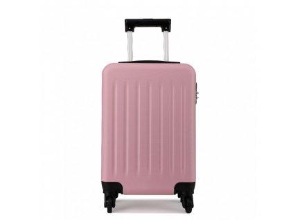 Kabinové zavazadlo na kolečkách - růžová