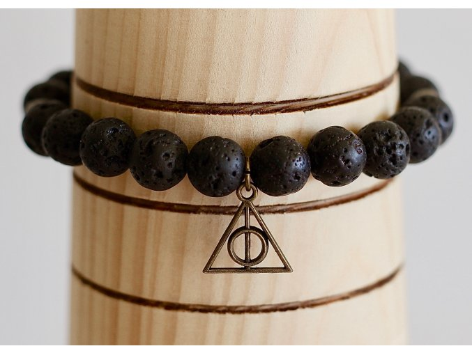 Náramek: Relikvie smrti  Náramek inspirovaný světem Harryho Pottera