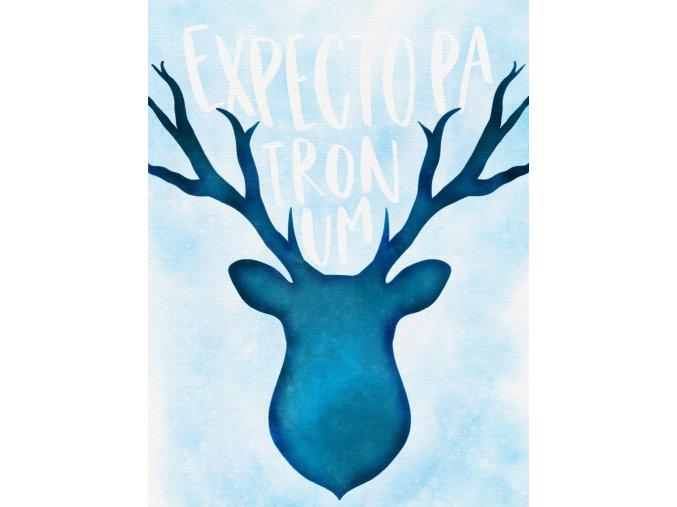 Art print: Expecto patronum