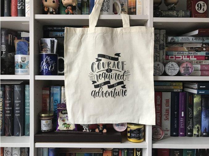 Plátěná taška - adventure