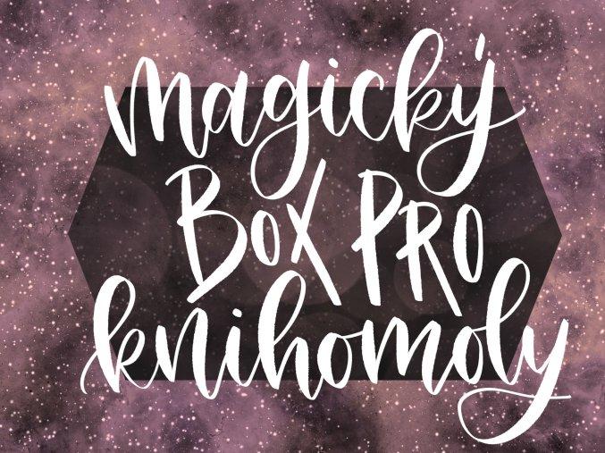 MAGICKÝ BOX PRO KNIHOMOLY: Knihomolství je moje superschopnost