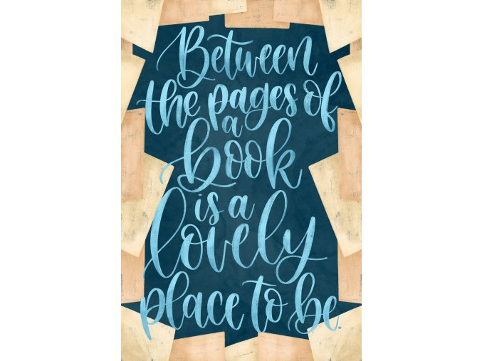 Art print: Between the pages