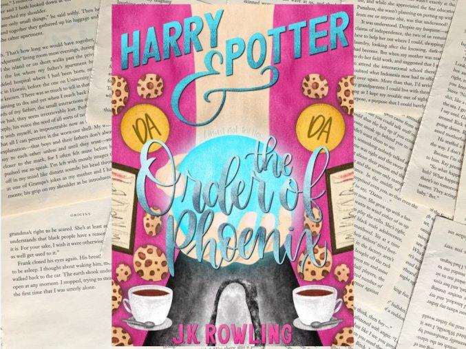 Art print: HP & Fénixův řád