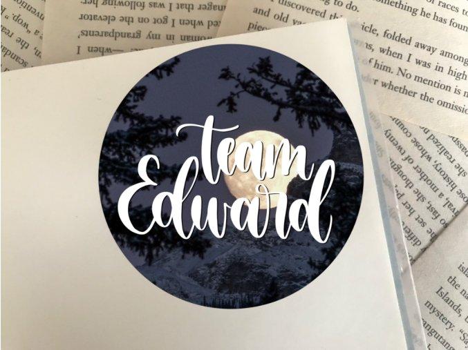 Nálepka: team Edward