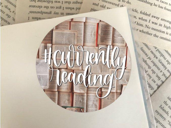 Nálepka: #currentlyreading