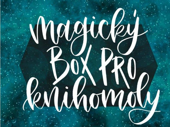 """MAGICKÝ BOX PRO KNIHOMOLY: """"PŮLMĚSÍČNÍ MĚSTO"""" Sarah J. Maas  Obsahuje tři nové svíčky, art print, záložky a další fan věci."""
