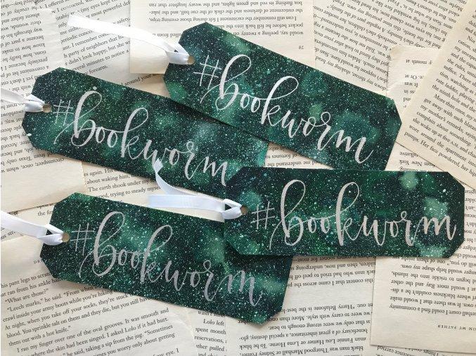 Galaxy záložka - #bookworm