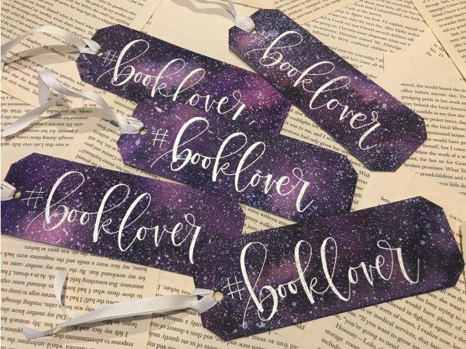 Galaxy záložka - #booklover