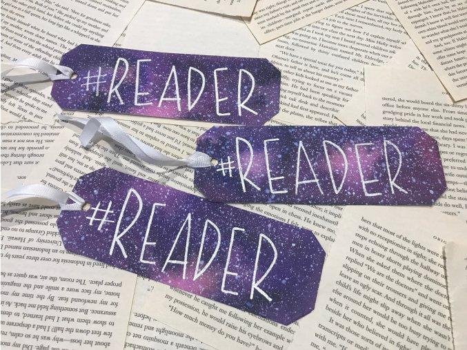 Galaxy záložka - #READER