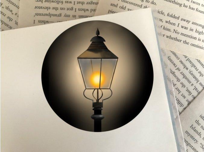 Nálepka: Narnia lantern